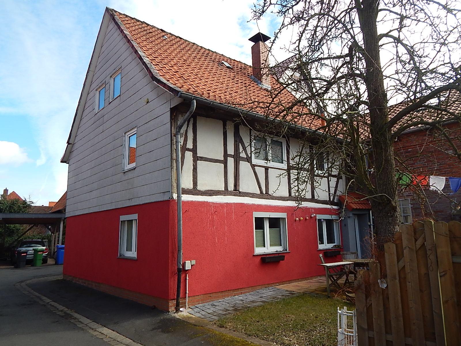 Fachwerkhaus im Ortskern von Rosdorf mit ca. 108m²Wohnfläche!