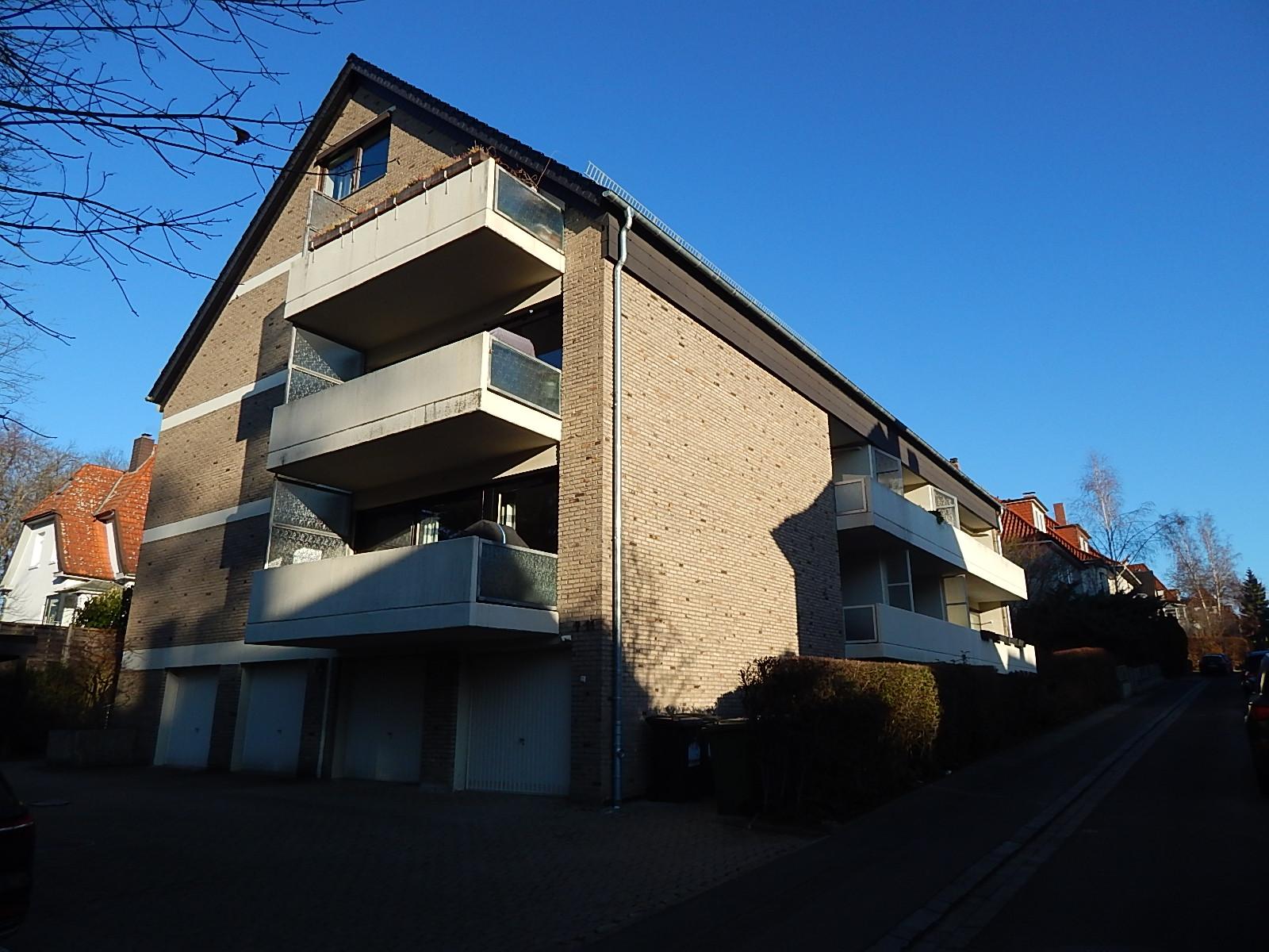 Wohnen im Ostviertel! 2-Zimmerwohnungca. 66m² mit überdachter Loggia!
